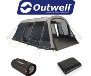 Outwell Montana 6P Tent 2020 (Inc: Carpet + Footprint)